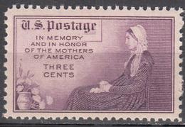 UNITED STATES     SCOTT NO. 737     MNH     YEAR  1934      PERF. 11X10.5