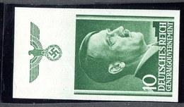 W4075  Gen.Gov. 1941  Michel #74u**   Offers Welcome.
