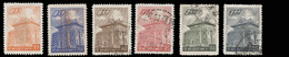 China (Taiwan) Set Of 6 Stamps (1959-60) Chu Kwang Tower (Quemoy), Used