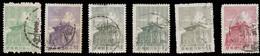 China (Taiwan) Set Of 6 Stamps (1960-61) Chu Kwang Tower (Quemoy), Used