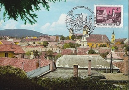 HUNGARY - 1980.Maximum Card II. - Szentendre View / National Thematic Stamp Exhibition Mi:3441 - Maximum Cards & Covers