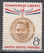 UNITED STATES     SCOTT NO. 1096     MNH     YEAR  1957 - Unused Stamps