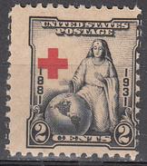 UNITED STATES     SCOTT NO. 702     MNH     YEAR  1931