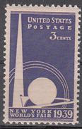 UNITED STATES     SCOTT NO. 853     MNH     YEAR  1939