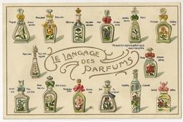 """M2103-  Le Langage Des Parfums """"en Relief"""" - Postcards"""
