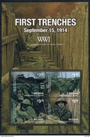 Bloc Sheet 1ere Guerre Mondiale World War 1 Neuf  MNH **  St Vincent 2014