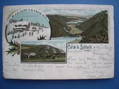 (Vosges, Ski) Col De La Schlucht, 1897, BE. - France