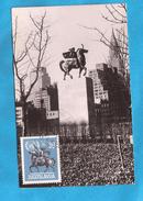 1955  774  10 JAHRE UNO DENKMAL MONUMENTO JUGOSLAVIJA  JUGOSLAWIEN  CARD-MAXIMUM