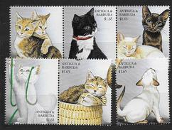 Antigua Et Barbuda 1999 N° 2583/2588 Neufs Avec Chats