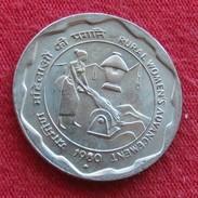 India 25 Paisa 1980  FAO Unc - Inde