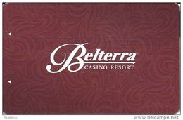 Belterra Casino Resort Florence, IN Room Key Card - Hotel Keycards