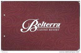 Belterra Casino Resort Florence, IN Room Key Card