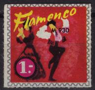 FLAMENCO / LP Advertising - LABEL CINDERELLA VIGNETTE - Dance MUSIC - MNH / Costumes