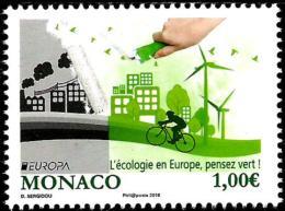Monaco - 2016 - Europa CEPT - Think Green - Mint Stamp - Ungebraucht