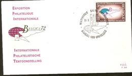 Portugal & FDC BELGIUM72, International Philately Exhibition, Brussels 1972 (1621)