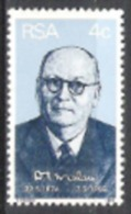 Südafrika South Africa RSA 1974 Geschichte Persönlichkeiten Politiker Ministerpräsident  D.F. Malan, Mi. 442 ** - Ungebraucht