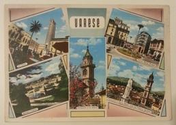 VARESE - VEDUTINE - La Torre - Giardini Pubblici - Campanile Di San Vittore - Sacro Monte - Piazza Monte Grappa - Varese