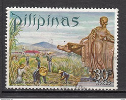 Philippines, Pilipinas, Industrie Du Sucre, Sugar Industry, Volcan, Volcano, Agriculture, Taureau, Taurus, Bull