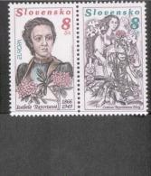 CEPT Berühmte Frauen / Famous Women Slowakei 250 - 251 Paar ** Postfrisch, MNH, Neuf - Europa-CEPT