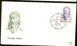 Portugal &  FDC Georges Hubin, Minister Of State, Vierset-Barse 1971 (1591)
