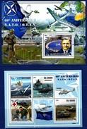 ST. SAO TOME AND PRINCIPE 2009. NATO. AVIATION SHIPS. SH+SS** SALE!!!