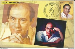 Maxim Card Talat Mahmood ,Legendary Indian Playback Singer, Son Of Manzoor Mahmood,Muslim, Inde, India