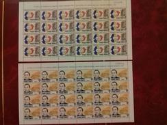 Y Et T: N°161/162 Neuf ** (MNH) En Feuille Complète De 24 Timbres, Cote: 28.80€. TTB