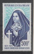THEME RELIGION CHRETIENNE - SAINT THERESE DE L ENFANT JESUS ( LE 500 FRANCS POSTE AERIENNE DE LA CENTRAFRICAINE ) 1973
