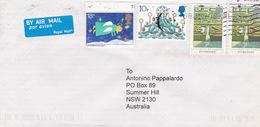Great Britain 2008 Cover Sent To Australia - 1952-.... (Elizabeth II)
