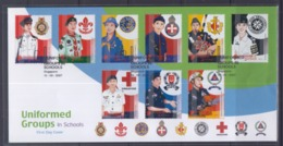 Singapore 2007 Uniformed Groups, Scouting, Girl Guides FDC