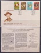 Zimbabwe 1982 75th Anniversary Of World Scouting FDC