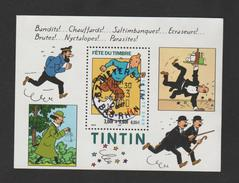 FRANCE / 2000 / Y&T N° 3303 En Bloc Ou BF N° 28 (Tintin) - Oblitération Du 25/03/2000. SUPERBE !
