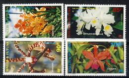 WF 1998 Serie N. 513-516 Orchidee MNH Cat. € 9 - Wallis E Futuna