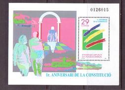 ANDORRE 1994 CONSTITUTION  YVERT N°B3 NEUF MNH**