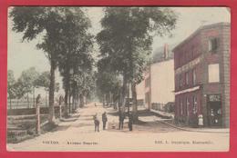 Virton - Avenue Bouvier ... Hôtel De La Station ... Superbe Carte Couleur - 1909 ( Voir Verso ) - Virton