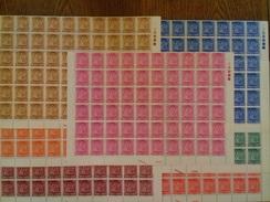 Y Et T: N°139/145 Série Complète Neuf ** (MNH) En Morceau De Feuille De 60 Timbres, Cote: 120€. TTB