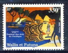 WF 2000 N. 541 Festival Delle Arti MNH Cat. € 8.10 - Wallis E Futuna
