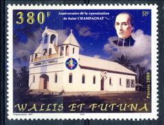 WF 2000 N. 542 San Champagnat MNH Cat. € 9.60 - Wallis E Futuna