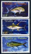 WF 2000 Serie N. 543-545 Pesci MNH Cat. € 9 - Wallis E Futuna