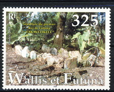 WF 2001 N. 564 Tomba Di Re Fakavelikele MNH Cat. € 8.60 - Wallis E Futuna