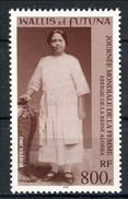 WF 2002 N. 566 Giornata Mondiale Della Donna. La Regina Aloisia MNH Cat. € 20.20 - Wallis E Futuna