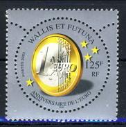 WF 2003 N. 590 Anniversario Dell'Euro MNH Cat. € 3,35 - Wallis E Futuna