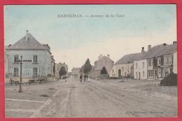 Marbehan -  Avenue De La Gare ... Colorisée -1907 ( Voir Verso ) - Habay