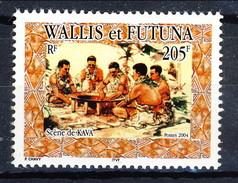 WF 2004 N. 617 Scene Di Kava MNH Cat. € 4.20 - Wallis E Futuna