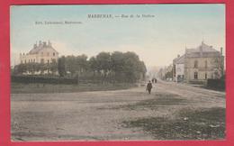 Marbehan - Rue De La Station ... Jolie Carte Couleur - 1907 ( Voir Verso ) - Habay