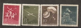 China Chine 1958 Plane Glider MNH - 1949 - ... Repubblica Popolare