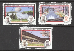 Antigua Sc# 1711-1716 SG# 1848,1849,1853 (Assorted) Used 1993 Aviation Anniversaries