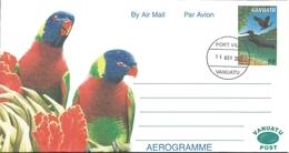 VANUATU - Aérogramme - AER 9 - Oblitéré / Cancelled - 2002