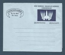 NOUVELLES HEBRIDES (New Hebrides) - Aérogramme - AER 1 - Neuf / Mint - 1971 - Sonstige