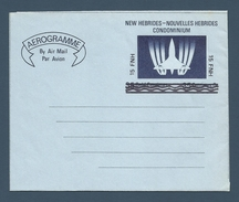 NOUVELLES HEBRIDES (New Hebrides) - Aérogramme - AER 2 - Neuf / Mint - 1977